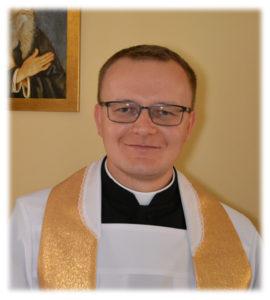 ks. Łukasz Heliniak, wikariusz